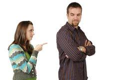 małżeństwo komunikacji Fotografia Royalty Free