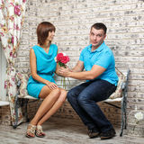 Małżeństwo propozycja Obrazy Stock