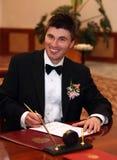 małżeństwo umowy Zdjęcia Royalty Free