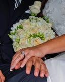 małżeństwo z miłości Fotografia Royalty Free