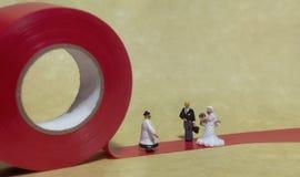małżeństwo z miłości Karły zdjęcia stock