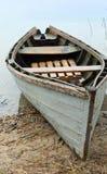 Mała łódka cumująca Obraz Royalty Free