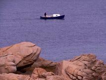 Mała łódka dla spaceru Fotografia Stock