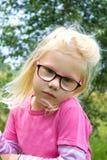 Mała śliczna dziewczyna fotografia stock