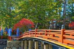 Mała świątynia przy Danjo Gaean świątynią w Wakayama, Japan Obrazy Stock
