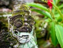 Mała świątynna opiekun statua w Bali Obraz Royalty Free