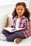 Mała amerykanin dziewczyna zdjęcie royalty free