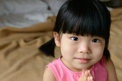 Mała Azjatycka dziewczyna Obrazy Stock