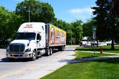 Mała Caesers ciężarówka Zdjęcia Stock