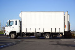 mała ciężarówka. Zdjęcia Royalty Free