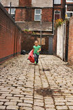 mała czarna dziewczyna grają young Fotografia Royalty Free