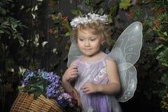 Mała czarodziejka Zdjęcia Stock