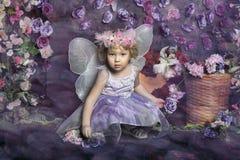 Mała czarodziejka Obrazy Royalty Free