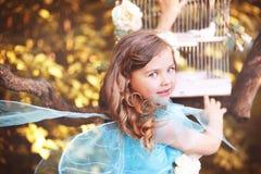 Mała czarodziejka zdjęcia royalty free