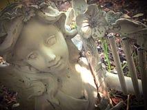 Mała czarodziejska statua zdjęcie stock