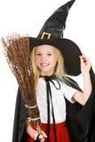 mała czarownica Obrazy Royalty Free