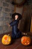 Mała czarownica Obrazy Stock