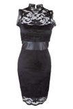Mała czerni suknia Fotografia Royalty Free