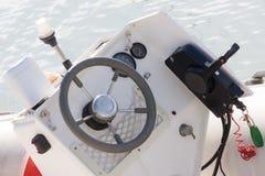Mała deska rozdzielcza łódź Obraz Stock
