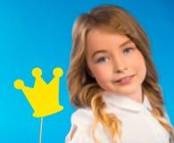 Mała dobra dziewczyna obraz royalty free