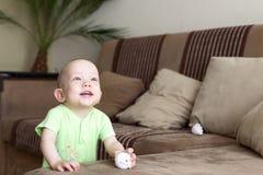 mała dziecko marzycielka Fotografia Stock