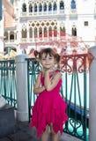mała dziewczyna parasolkę Zdjęcia Royalty Free