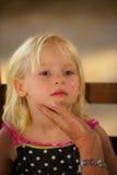 Dziecko twarzy obraz Obraz Royalty Free