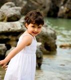 Mała dziewczynka portret Obraz Royalty Free