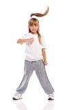 Mała dziewczynka taniec Zdjęcie Stock