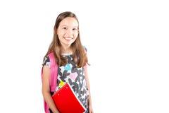 Mała dziewczynka uczeń Zdjęcia Stock