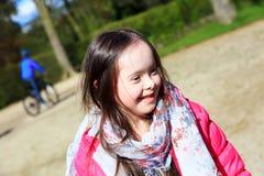 Mała dziewczynka zabawę Zdjęcie Royalty Free