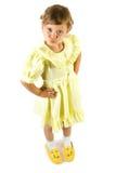 mała dziewczynka zabawy obraz royalty free