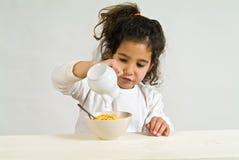 mała dziewczynka zbóż Obrazy Royalty Free