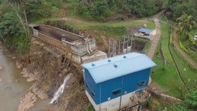 Mała energii wodnej roślina w Azja w lesie Sri Lanka zbiory