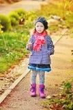 mała fashion girl Obrazy Stock