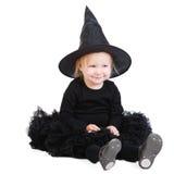 mała Halloween czarownica fotografia stock