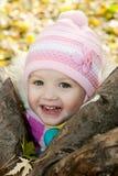 mała jesień dziewczyna Zdjęcie Stock