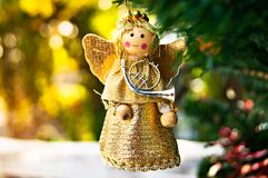 Mała kąt lala Zdjęcie Royalty Free