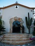 Mała kaplica ostatnio odnawiąca w Cabo Meksyk obraz stock