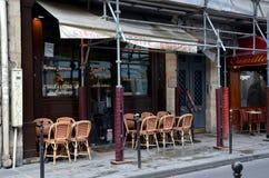 Mała kawiarnia w Paryż Obraz Stock