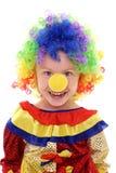 mała kostiumowa błazen dziewczyna obrazy stock