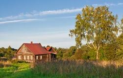 mała kraj nieruchomość Zdjęcie Stock