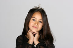 mała księżniczka Obraz Royalty Free