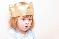 mała księżniczka fotografia royalty free