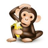 mała małpa Obrazy Royalty Free