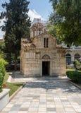 Mała metropolia katedrą w Ateny fotografia stock