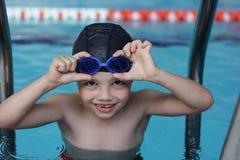 mała pływaczka Obraz Royalty Free
