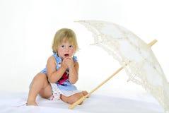 mała piękna dziewczyna Obraz Royalty Free