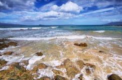 Mała plaża Makena plaży stanu park, Fotografia Stock