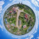 Mała planeta Rakov, Minsk region, Białoruś Obrazy Royalty Free